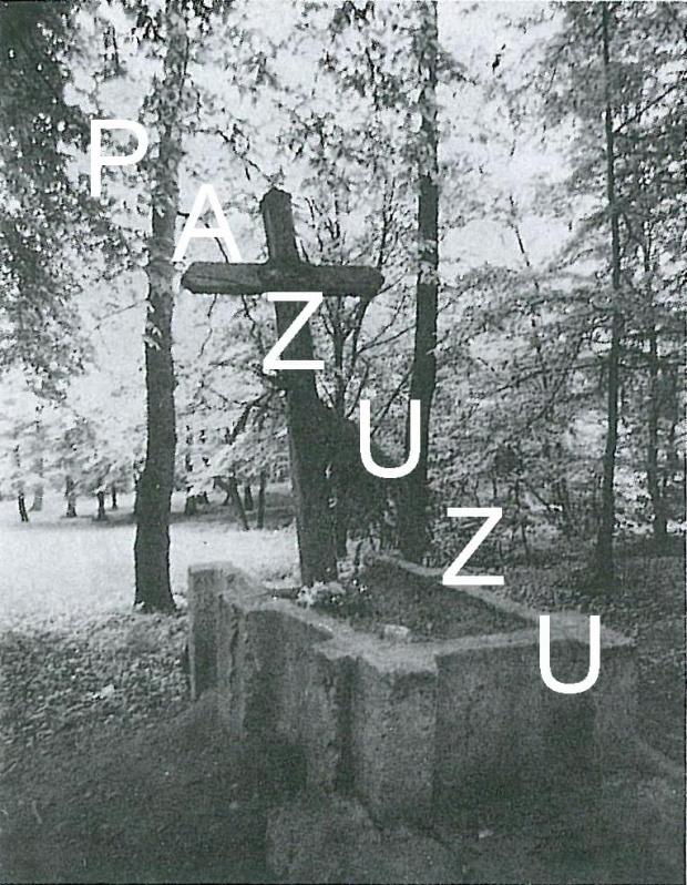 Cmentarz nr 383 w Wróblowicach ok. 1975 r. Zdjęcie ze zbiorów PSOZ