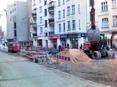 Budowa trasy tramwajowej na Rataje #PoznańBudowa