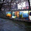 Cudne malarstwo artysty plastyka RAJDEM - piękne miasto Bydgoszcz nad Wilenką w Wilnie:) #Kolaż