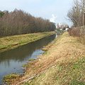 Kanał doprowadzający wodę z Kurówki na potrzeby Zakładów Azotowych #Puławy #Azoty #kurówka #rzeka #kanał