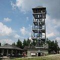 wieża widokowa na Wlk. Czantorii #góry #Beskidy #BeskidŚląski #PasmoCzantorii #Ustroń #Czantoria