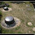Widok z góry na Panzerwerk (bunkier) nr 724 #MRU #bunkry #forty #Międzyrzecz #Obra #schron
