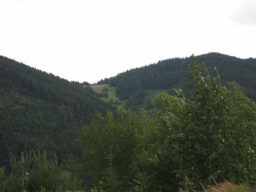 przeł. Siodło (746 m.) ze stoku Magury #góry #Beskidy #BeskidŚląski #Szczyrk