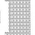 schemat do ażurowej bluzki Eva Crochet