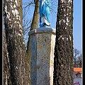 Figura Matki Bożej w Szreniawie #figura #krzyż #kapliczka