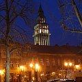 Bielsko-Biała wieczorem 30.03.2007 #Bielsko #Biała