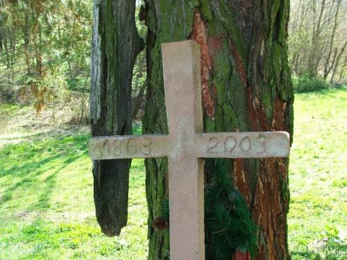 Kopiec powstańców w Celejowie #Celejów #krzyż #pomnik #kopiec