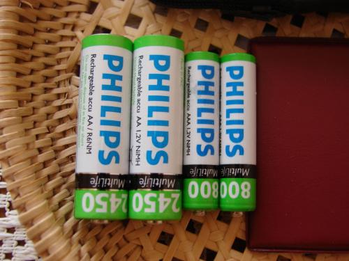 Philips - AA & AAA accu
