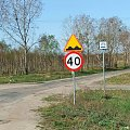 Niebieski szlak rowerowy #Puławy