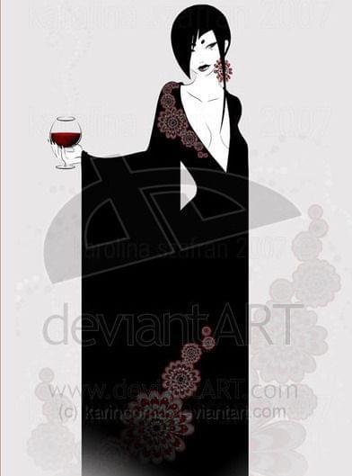 Mroczna dama VII