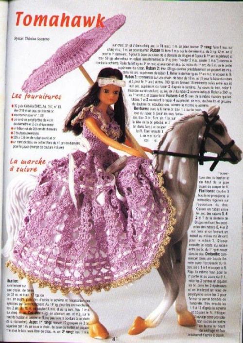 #szydełko #ubranka #lalka #Barbie