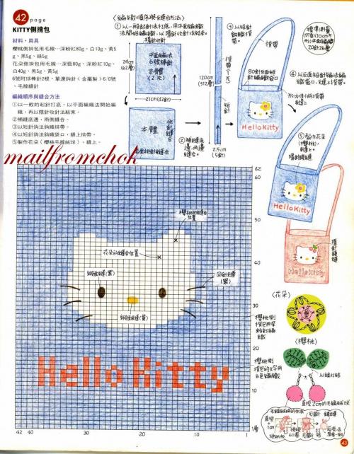 #szydełko #HelloKitty