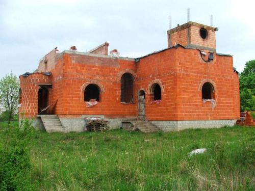 Budowa kościoła w Nasiłowie #Nasiłów #kościół