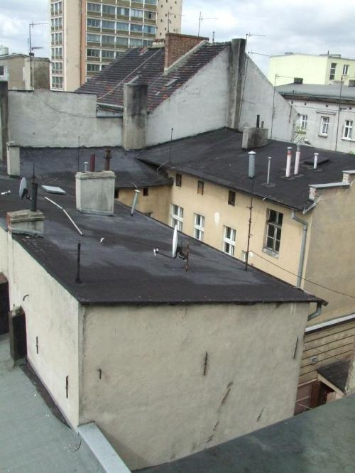 #dachy #miasto #domy