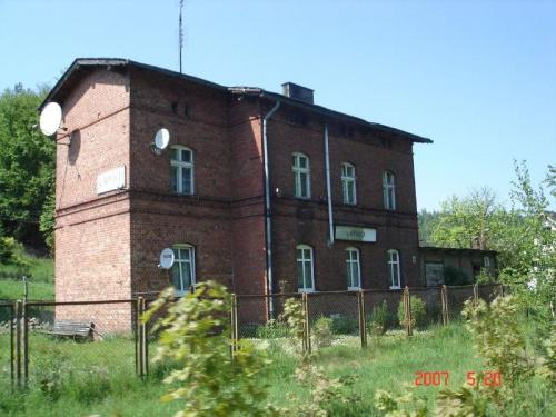 Dworzec w Łapinie