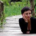 #frieda #Madzia #kobieta #dziewczyna #Przemyśl #Arboretum #Park #Ogród #podkarpacie #natura #most #kładka