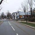 Ulica Izabeli dochodzi do Piłsudskiego #Puławy #skrzyżowanie
