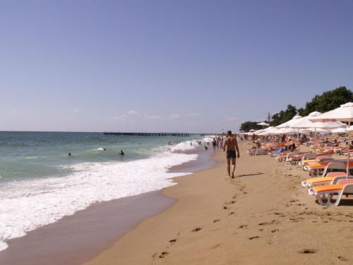 Bułgaria 2006 Varna Złote Piaski #Bułgaria #varna #ZłotePiaski #morze #wakacje #kurort #piasek