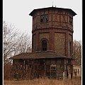 Wieża ciśnień #Międzyrzecz #kolej #stacja #parowóz #parowozownia