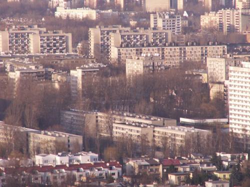 Kopiec Kościuszki Kraków 1-04-2006 #kopiec #kościuszki #widoki