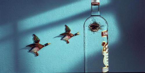 Smirnoff :) druga strona butelki #SmirnoffSmirnofWódkaVodkaReklama