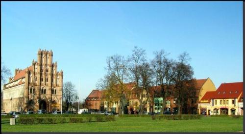 Chojna - kamieniczki #miejsca #MiastaPolskie #wycieczki #budowle