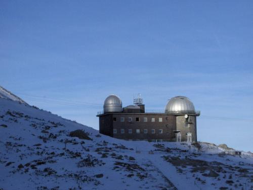 Łomnica - obserwatorium astronomiczne Lomnický štít #TatrzanskaLomnica
